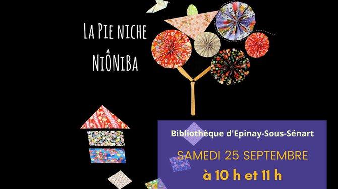 "Spectacle ""La pie Niche Niôniba"""