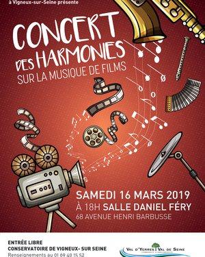 Concert des Harmonies sur la musique de films