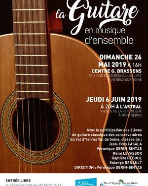 Concert la Guitare en musique d'ensemble