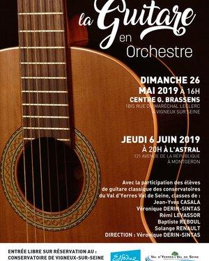 Concert la Guitare en orchestre