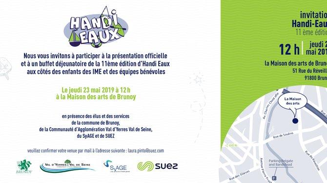 11e édition Handi-Eaux à Brunoy