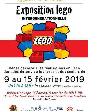 Exposition intergénérationnelle Légo