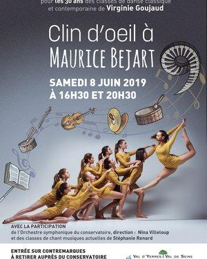 Clin d'oeil à Maurice Bejart
