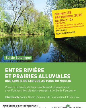 """Sortie botanique """"Entre rivière et prairies alluviales"""