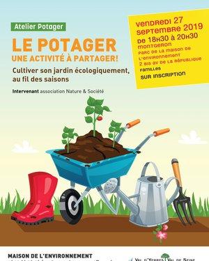 """Atelier """"Le Potager"""""""