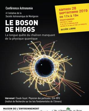 """Conférence Astronomie """"Le Boson de Higgs"""""""