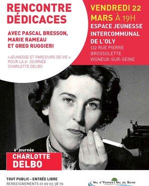 Rencontre Dédicaces Journée Charlotte Delbo